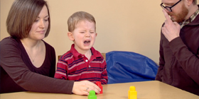 Connecting Parents Screencap - Child in the middle of a tantrum